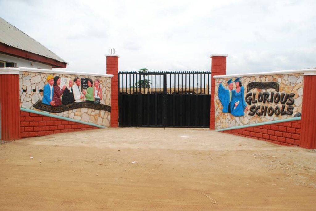 Beautiful School Entrance